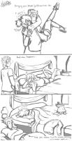MLP: Drunk Girlfriend (sketches) by KikiRDCZ