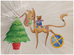 Holiday art 2014 by sarabi