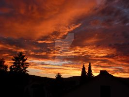 Sonnenuntergang in Koeppern / Sunset in Koeppern by FireDragon7000