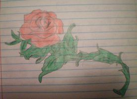 A Simple Rose by EmoRainbow777