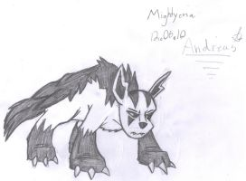 Mightyena by Andreas0047