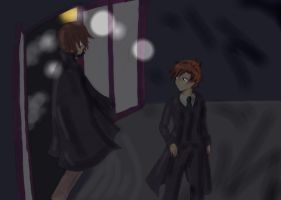 And in the window, he saw- by UmiHoshi