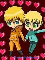 Kenny and Butters love x3 by mimizazule06