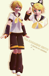 [MMD] Kagamine Rinto |COMPLETED| by mmdbirb