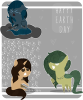 . : Happy earth day everypony ! : . by StarChaseSketches