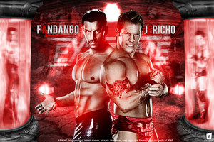 Chris Jericho Vs Fandango -Extreme Rules 2013 by Omarison