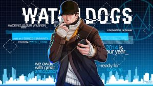 WATCH DOGS - Premium Wallpaper (Free) by RazoTRON