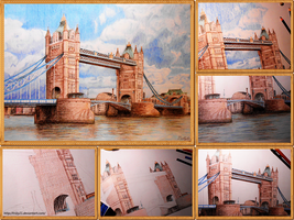 Tower Bridge, London - Step-by-step by Trilly21