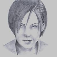 Resident Evil: damnation. Ada Wong by GIS89