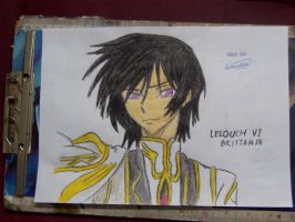 Lelouch Vi Brittania by afsimart
