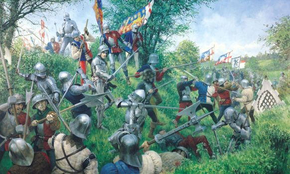 Battle of Tewkesbury 1471 by Bloodrave1984