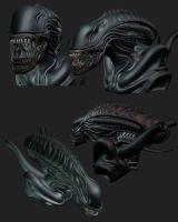 Alien Model Update by Mavros-Thanatos