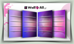 purple_for_iPhone by WallforAll