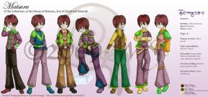 Fy Reference - Matsuru by kittyocean