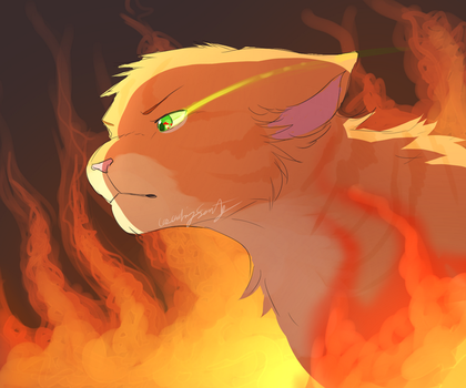 Fire alone + UPDATES by CascadingSerenity