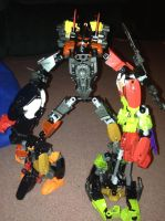 Bruticus fall of cybertron by werelightshine
