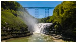 Letchworth Tilt Shift by GateFan