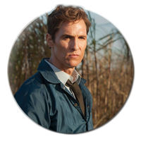 Icon - True Detective - Rust Cohle by Blooes