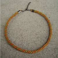 kumihimo braided necklace by were-were-wolfy