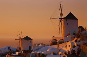 Santorini sunset by AlexGutkin