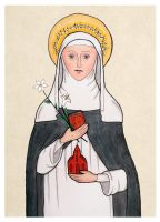 St. Catherine of Siena by mephetti