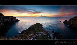 Surat Bay Heads Sunrise by mark-flammable