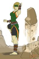 Cie - The Earthbender by gibsonmo
