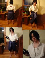Sasuke Cosplay in Progress by BirdMan-Hwah