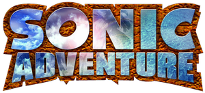 Sonic Adventure logo by RingoStarr39