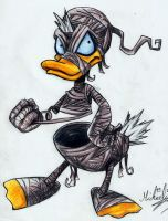 Donald Duck Halloween by Tiamat17