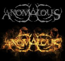 ANOMALOUS LOGO by isisdesignstudio