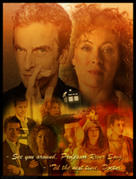 River Song and 12th Doctor by MrArinn