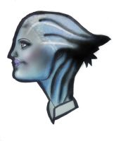 Liara by Random-Acts-Stock