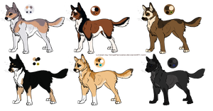 OPEN Dog Adoptables by CaledonCat
