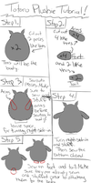 Crappy totoro plushie tutorial by evee103