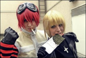 Mello and Matt - Death Note by LauraNikoPhantomhive