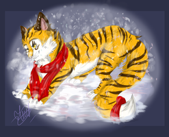 Snow time by teawithblood