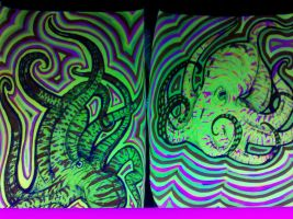 TechnoPussies in Blacklight by Lady-----HADES