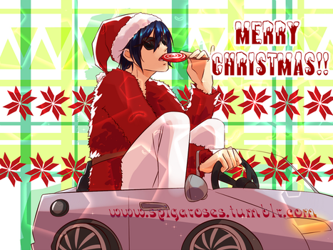 Merry Christmas from Yato by SpigaRose