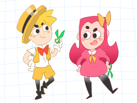 Snipperclips Humanized by thegreatrouge