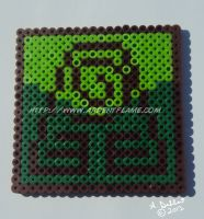 Fuse Beads: Earth Kingdom by Purplefire40