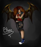 New OC: Blare Armistad by jazzy2cool