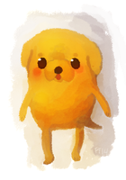 Jake the Dog by foxtribe