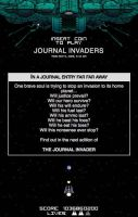 Journal Invaders v1.0 by ArtBIT