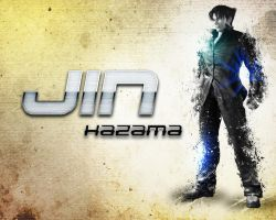 Jin Kazama Wallpaper (Blood Vengeance) by potterhead421