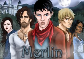 Merlin Fanposter by hollano