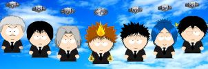 SP Vongola Family by grimmjack