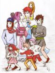 Family Series I. - Gaara x Sakura Family by Vivien6277