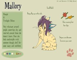 Mallory Reference by SilverSkittle