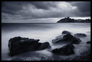 Criccieth Castle by tobyedwards